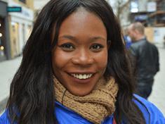 Afrikanische Frau zum Heiraten